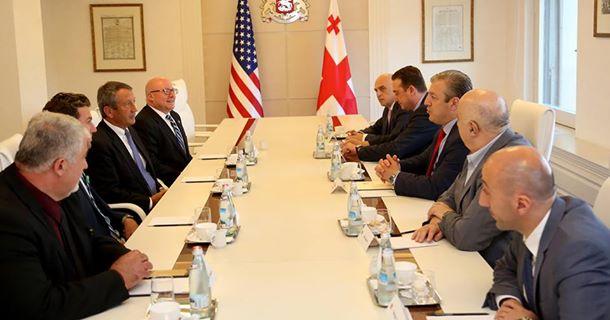 Премьер Грузии встретился с американскими конгрессменами