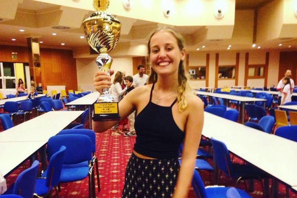 Нино Хомерики стала двукратной чемпионкой Европы по шахматам среди юниоров