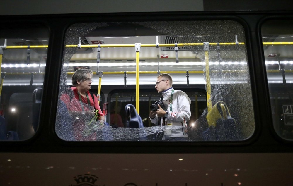 Нападение на автобус