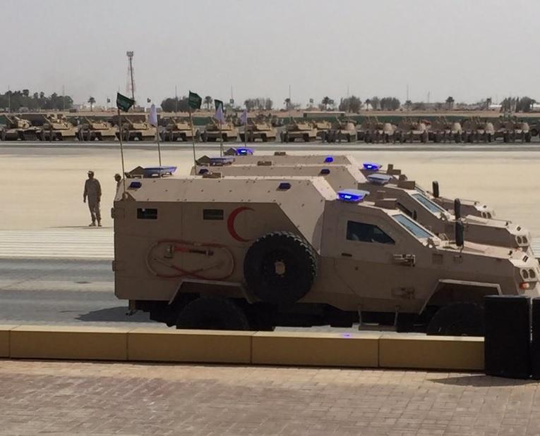 Грузинский броневик развалился на поле боя в Йемене