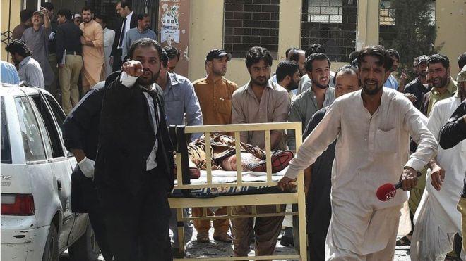В Пакистане прогремел взрыв, есть жертвы