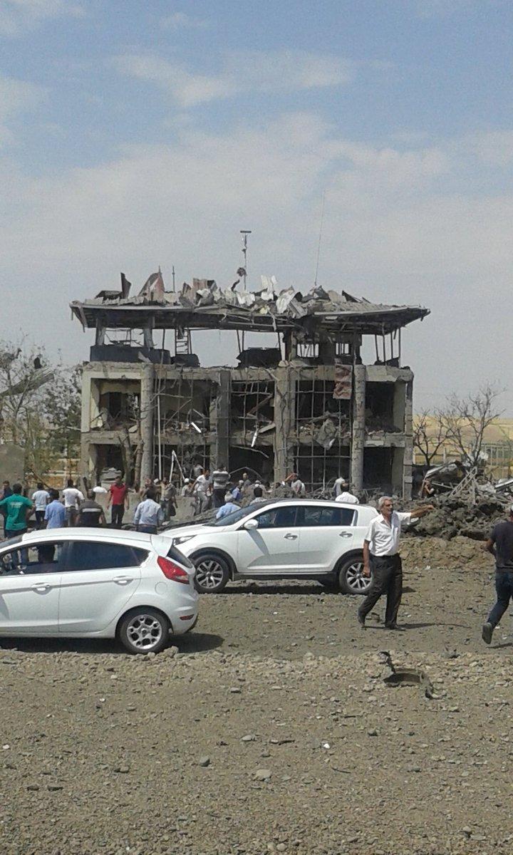 Мощный взрыв прогремел на юго-востоке Турции