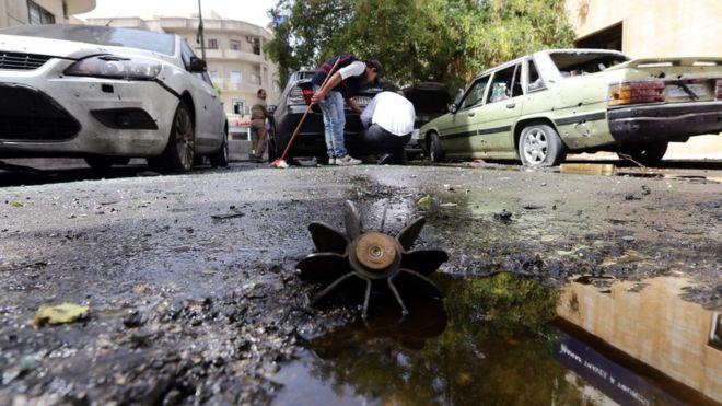 В крупных городах Сирии произошла серия взрывов