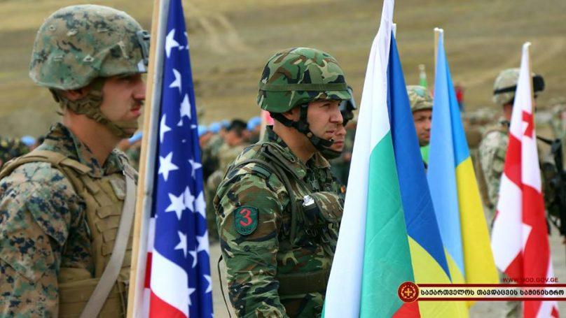 В Грузии проходят военные учения НАТО «Agile Spirit»