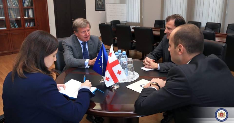 Посол ЕС Евросоюза поздравил Грузию с проведением демократических выборов