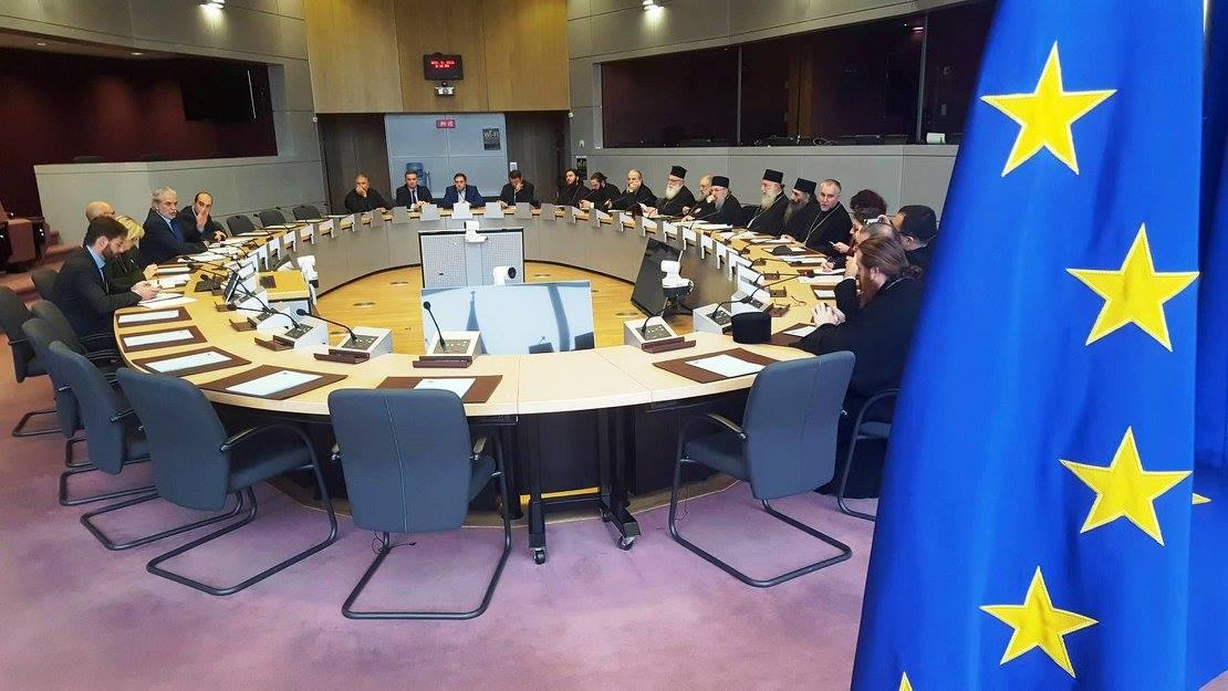 Делегация ГПЦ обсудила в Брюсселе проблемы грузинских беженцев