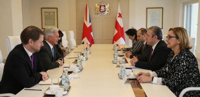 Государственный министр Великобритании по вопросам Европы и Америки Министерства иностранных дел и содружества Алан Дункан