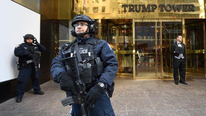 Над небоскребом Трамп-тауэр установлена бесполетная зона