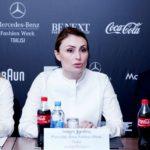 "Директор ""Mercedes-Benz Fashion week Tbilisi"" София Чкония"