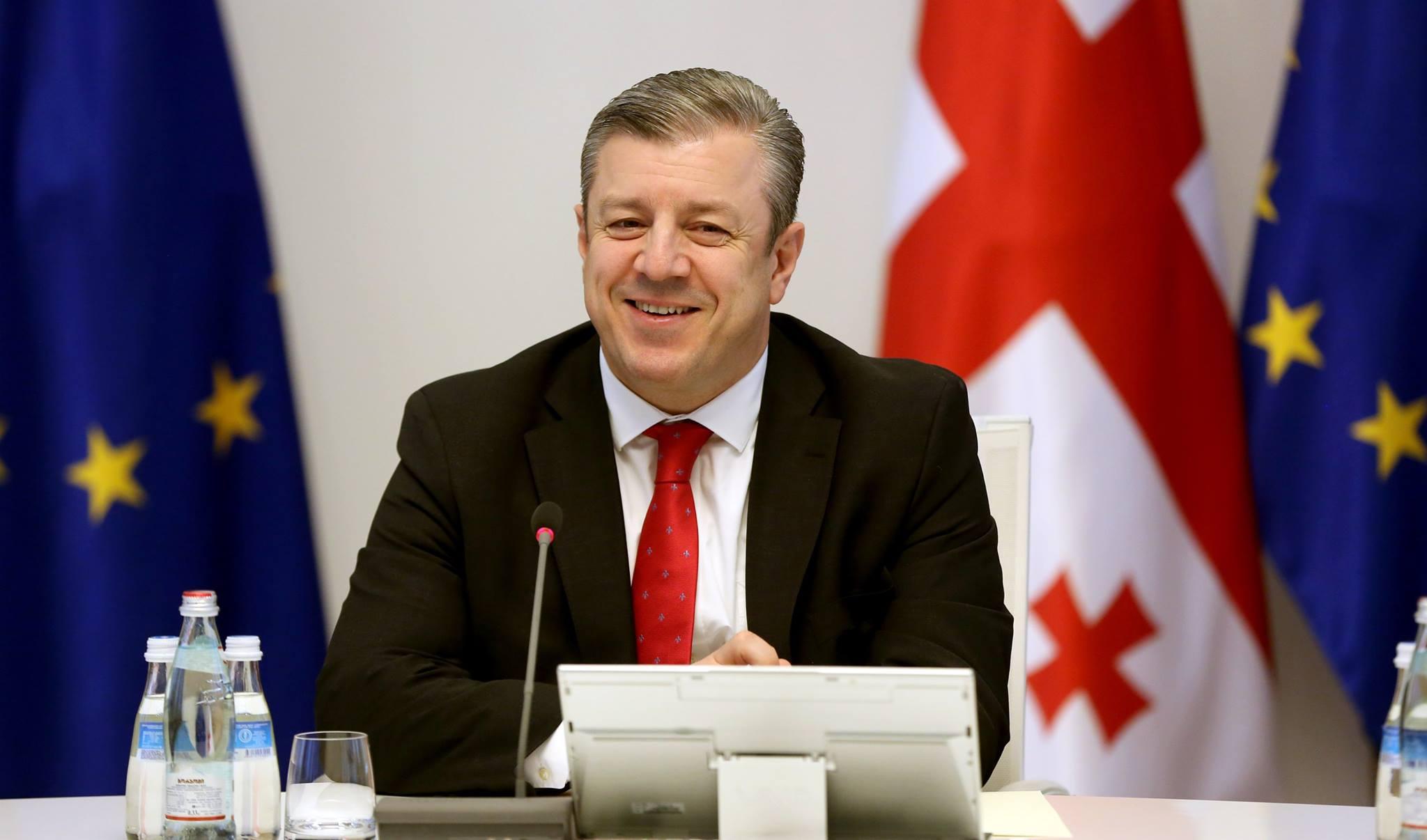 Премьер Грузии благодарит европейских политиков за поддержку в процессе либерализации визового режима