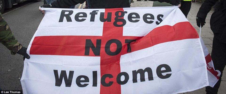 Грузинские ультранационалисты против приема беженцев из других стран