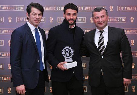 Торнике Окриашвили - лучший футболист Грузии 2016 года