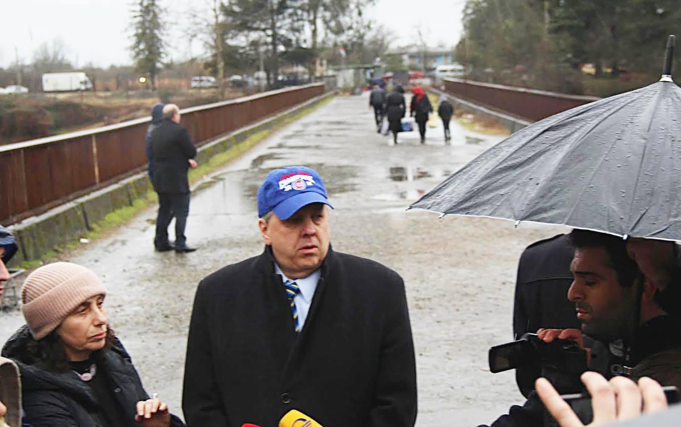 Посол США осудил закрытие пропускных пунктов на т.н. границе с Абхазией