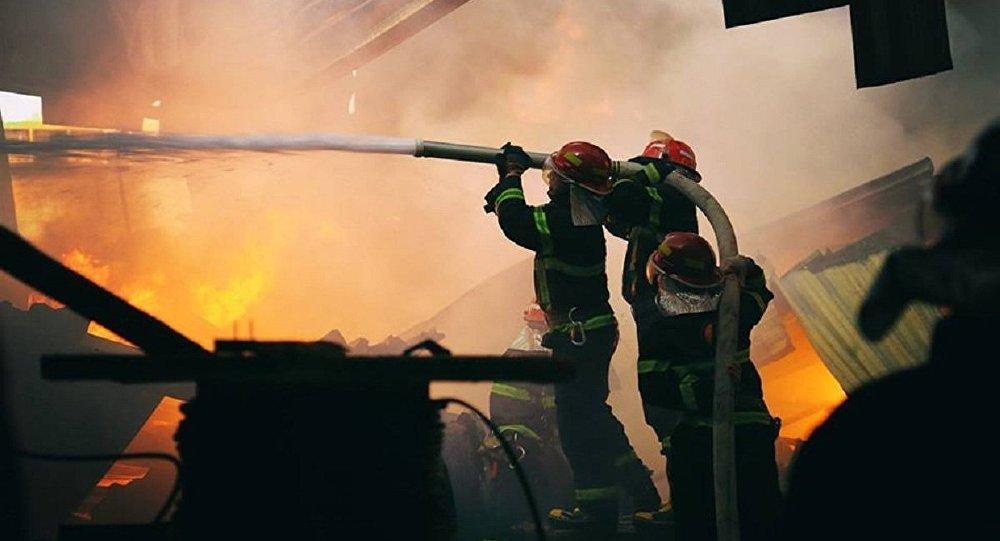Жертвы пожара в Детском мире не исключает умышленного поджога