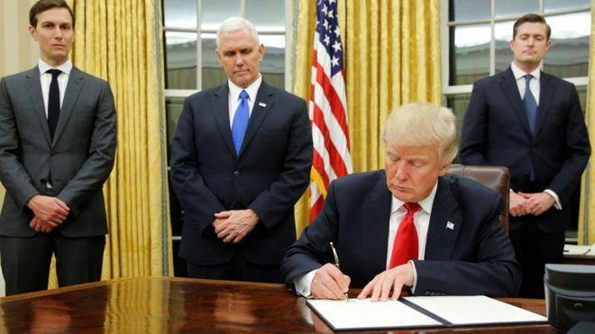 Первые указы Дональда Трампа на посту президента