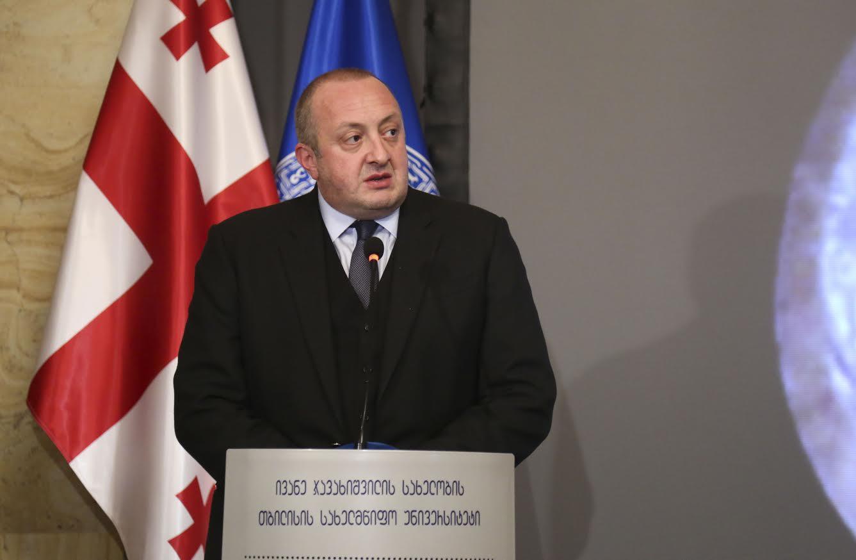 Президент Грузии поздравил Франка-Вальтера Штайнмайера с победой на президентских выборах