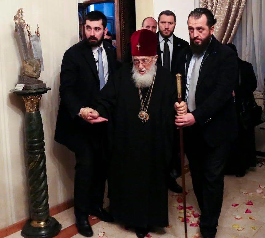 Католикос-Патриарх всея Грузии благополучно вернулся на родину