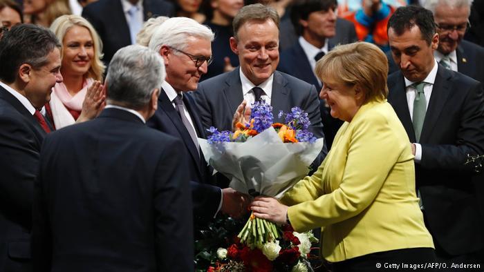 Франк-Вальтер Штайнмайер избран 12-м президентом Германии