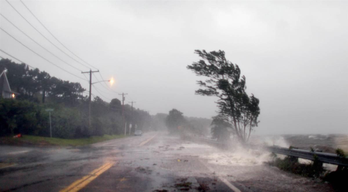 В Грузии ураган унес жизнь одного человека