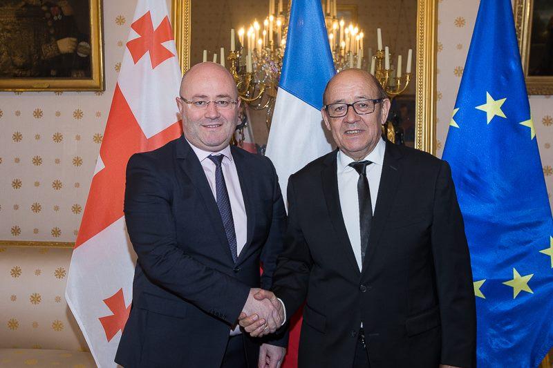 Изория: Франция является стратегическим союзником Грузии