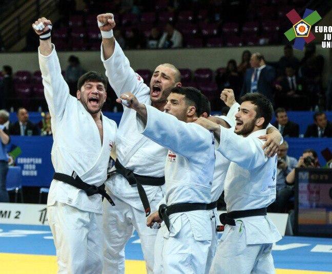 Мужская сборная Грузии по дзюдо девятикратный чемпион Европы