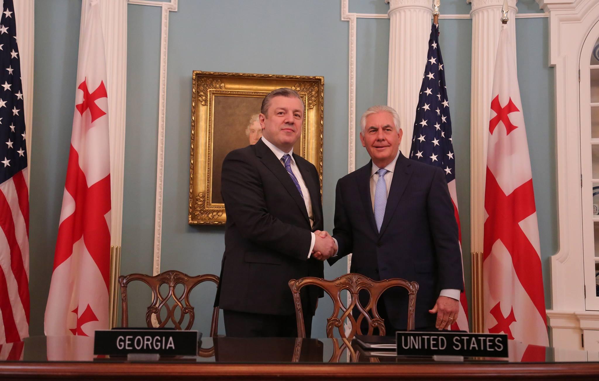 Грузия и США укрепляют сотрудничесво в сфере безопасности