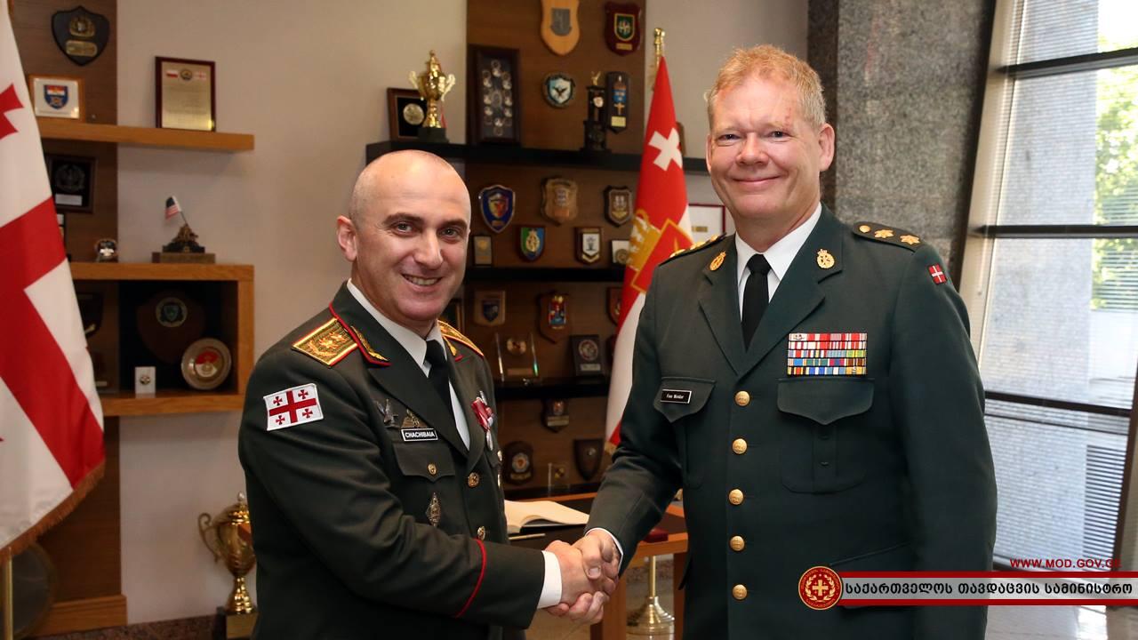 Владимир Чачибая награжден медалью Внутренней гвардии Дании