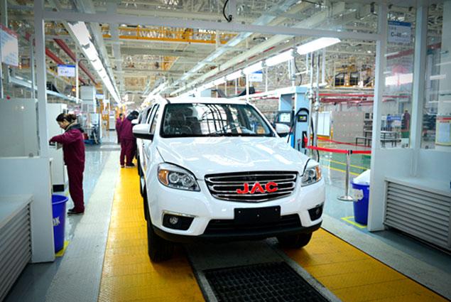 Китайский автоконцерн JAC намерен завоевать грузинский рынок