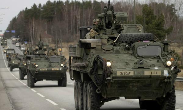 Грузинские офицеры принимают участие в учениях НАТО в Эстонии