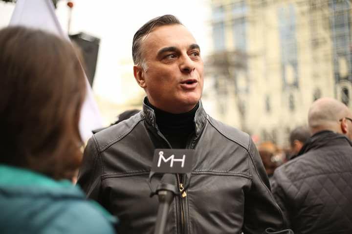 """СМИ: ведущий """"Рустави-2"""" может стать кандидатом в мэры Тбилиси"""