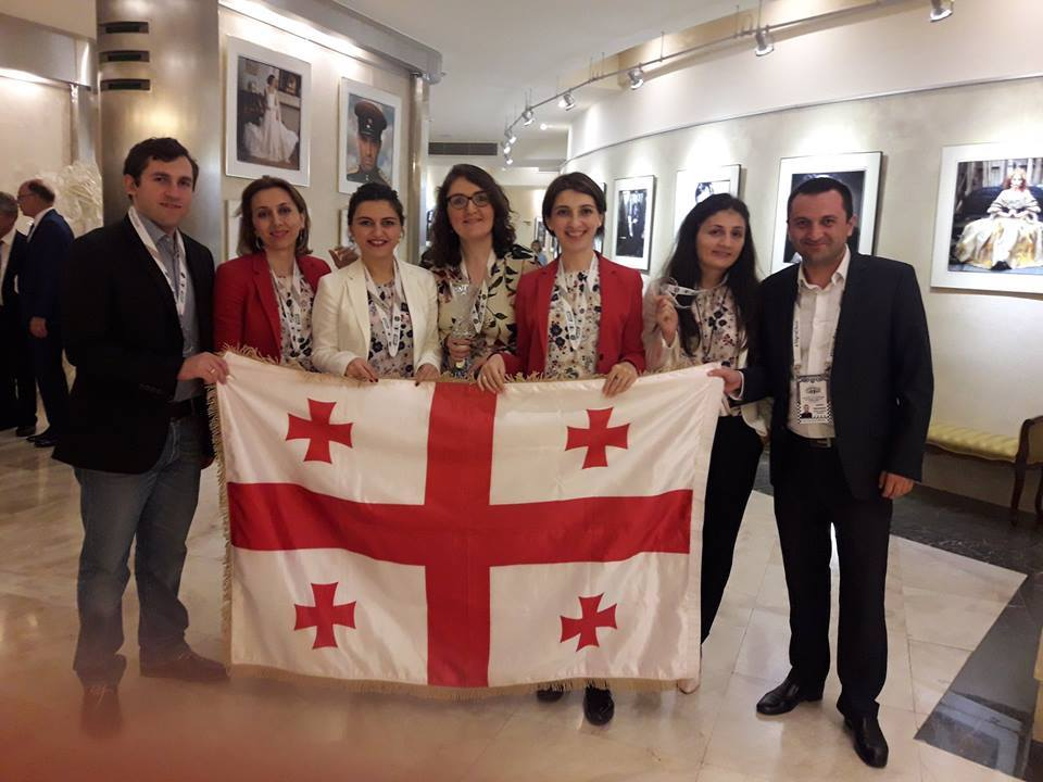 Грузинские шахматистки завоевали бронзу мирового чемпионата
