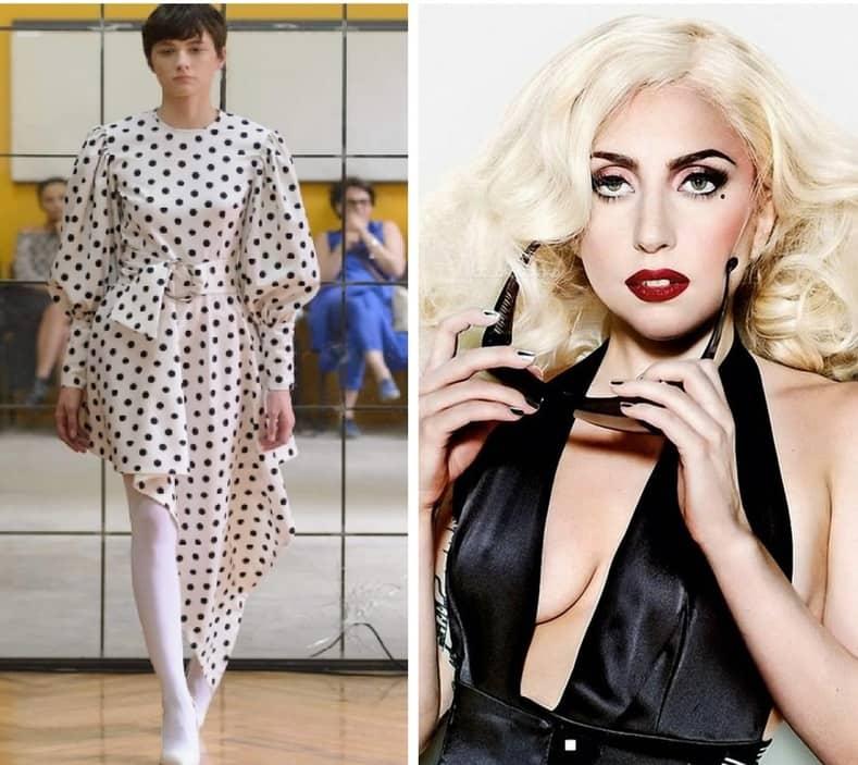 Леди Гага в платье грузинского дизайнера George Keburia