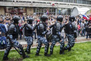 В России арестованы сотни участников антикоррупционных акций