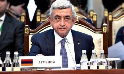 Серж Саргсян, президент Армении