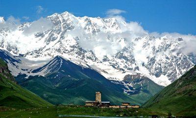 Дроны помогут исследовать ледники Грузии