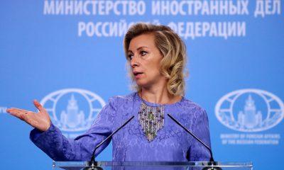 Официальный представитель МИД России Мария Захарова © Вячеслав Прокофьев/ТАСС