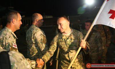 Грузинские миротворцы вернулись из ЦАР