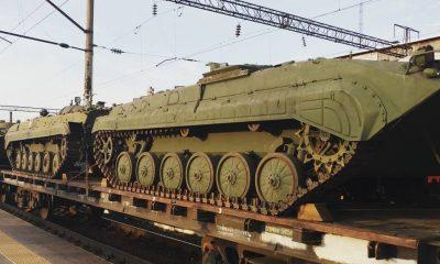 Переброска российской военной техники