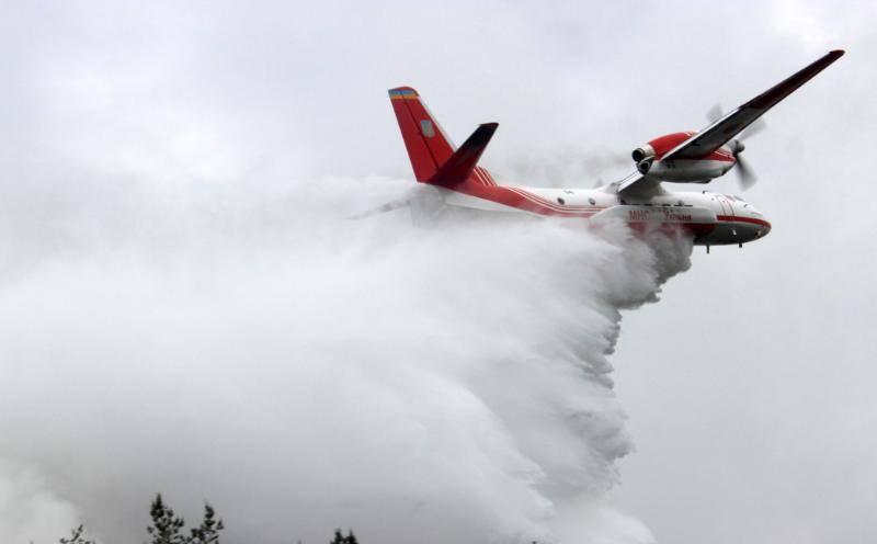 thumb #новости абастумани, Грузия, пожар, самолет, украина