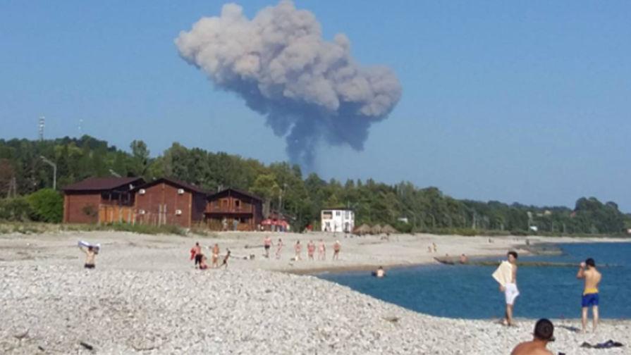 При взрыве в Абхазии погибли две российские туристки