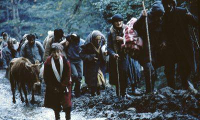 Этнические грузины спасаются от войны в Абхазии