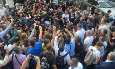 Поезд с Саакашвили задержали на польско-украинской границе