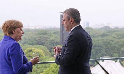 Премьер Грузии отправится в Берлин