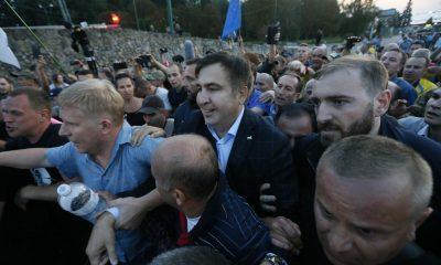 На Саакашвили завели уголовное дело в Украине