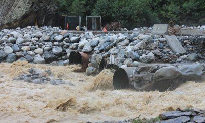 борются с последствиями затопления