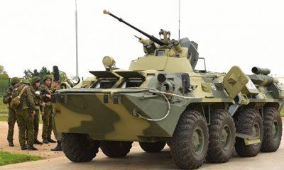 Российские военные три месяца учились действовать в горах Абхазии