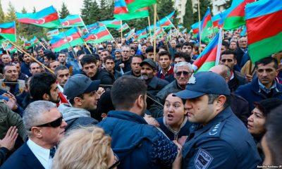 В Баку прошел антикоррупционный митинг оппозиции