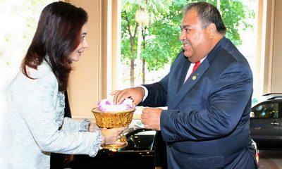 В Сухуми ждут президента Науру Барона Вака