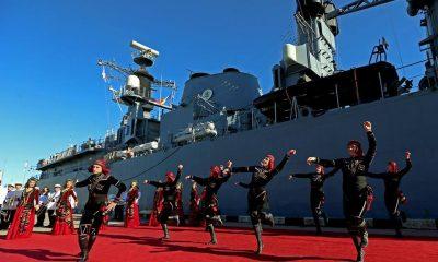 Корабли НАТО зашли в порт Батуми