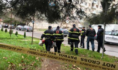 Один спецназовец ранен в результате антитеррористической спецоперации в Тбилиси Фото: Imedinews.ge